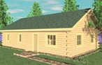 Log Home Picture